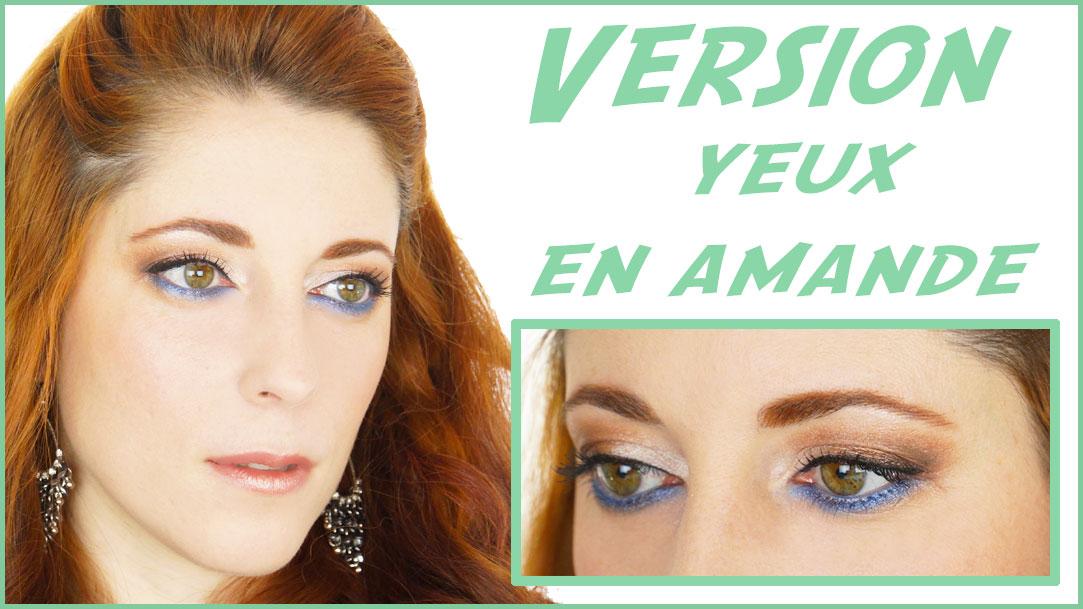 Extrêmement maquillage yeux en amande : technique maquillage yeux en amande  UM07