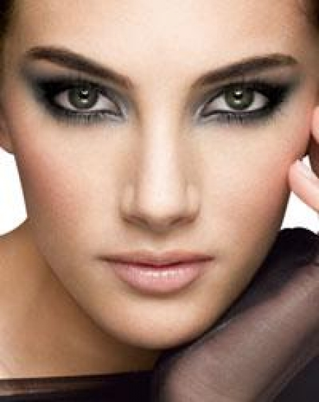 Maquillage des yeux marron - Maquillage de soiree yeux marron ...