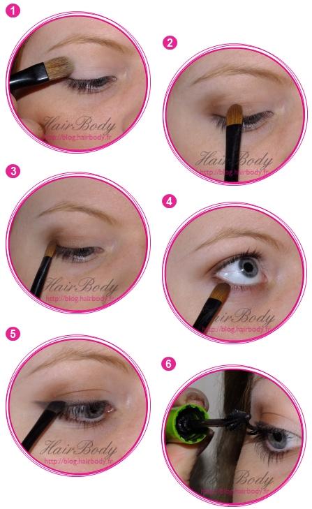 Bien connu Le maquillage des yeux discret – Maquillage des yeux JU31