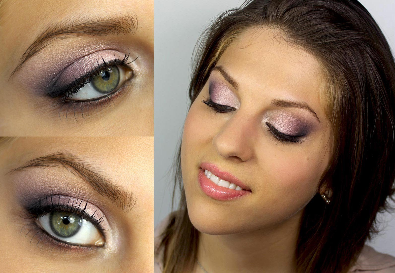 Bien-aimé Le maquillage des yeux verts pour brune – Maquillage des yeux YP12