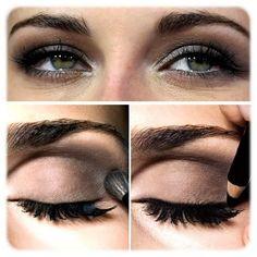 Le maquillage pour brune aux yeux bleus