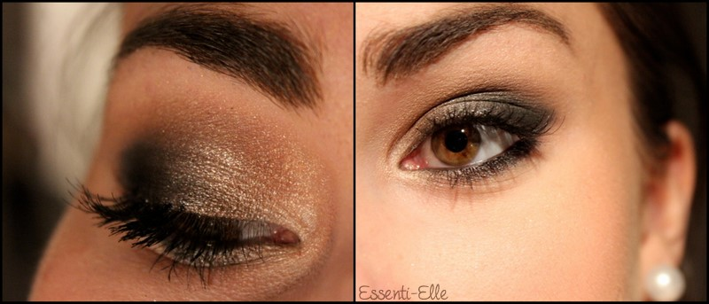 maquillage yeux marrons discret