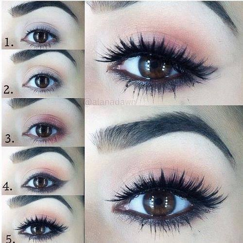 Maquillage yeux marrons discret - Maquillage mariage yeux marron ...