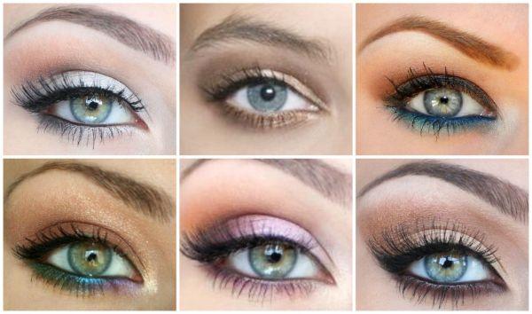 Le maquillage des yeux bleus gris maquillage des yeux - Yeux gris bleu ...