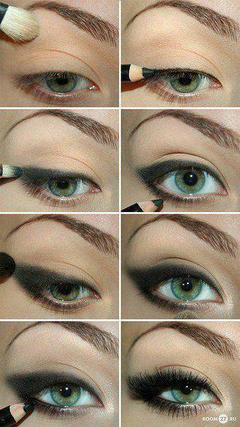Technique de maquillage yeux