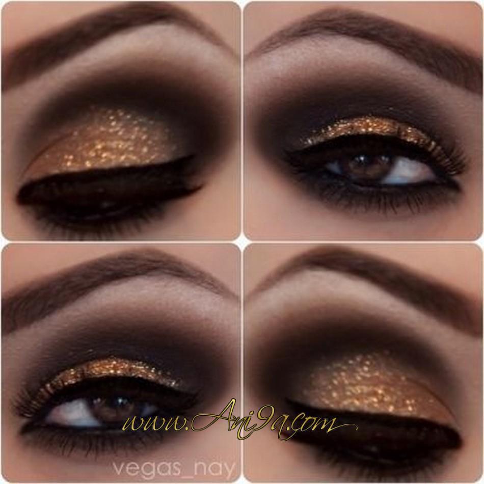 Häufig Le maquillage des yeux doré – Maquillage des yeux FG06