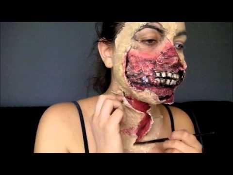 Le maquillage des yeux façon zombie