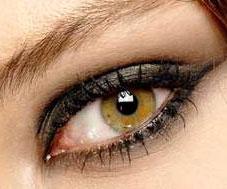 le maquillage des yeux noisettes vert maquillage des yeux. Black Bedroom Furniture Sets. Home Design Ideas