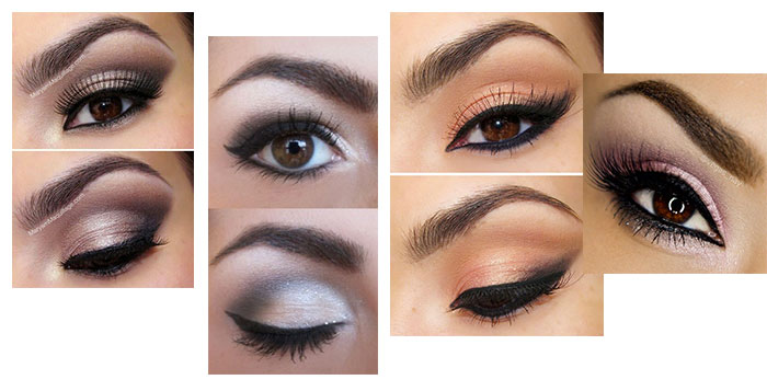 Maquillage yeux marrons simple Maquillage pour yeux marrons