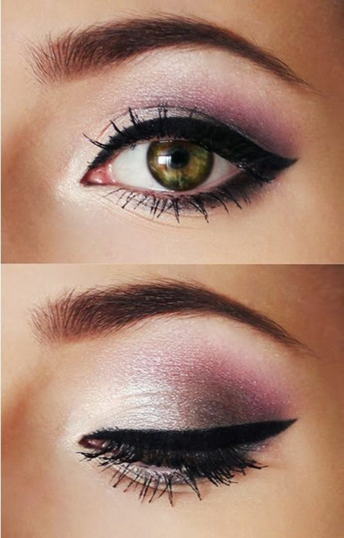 Maquillage des yeux soir e maquillage des yeux for Photo comment ideas