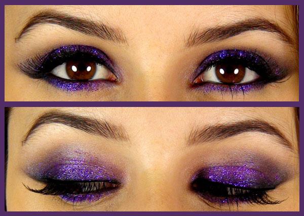 maquillage des yeux violet maquillage des yeux. Black Bedroom Furniture Sets. Home Design Ideas