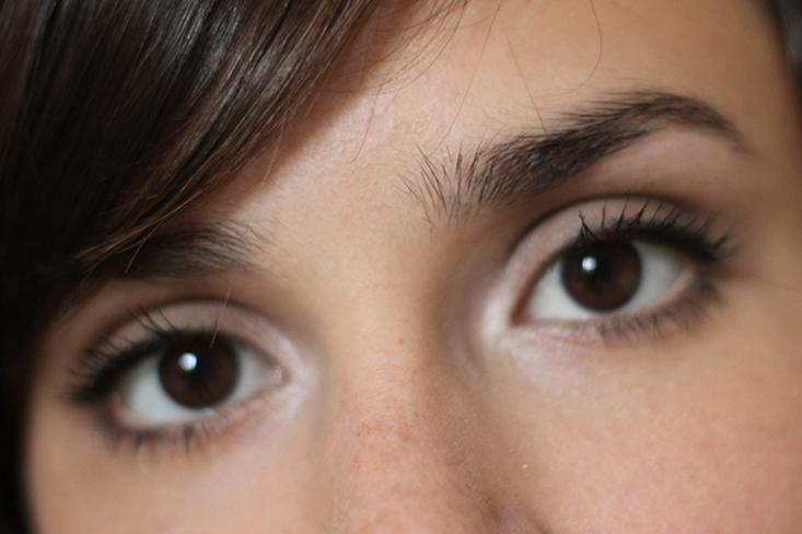Le maquillage des yeux discret