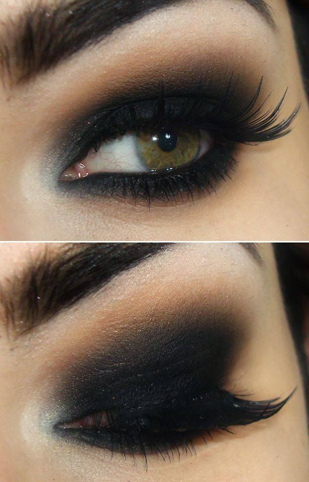 Le Maquillage Des Yeux Smoky Maquillage Des Yeux
