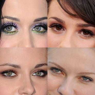 Le maquillage des yeux vairons