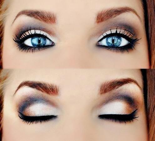 Le Maquillage Des Yeux Bleus Maquillage Des Yeux
