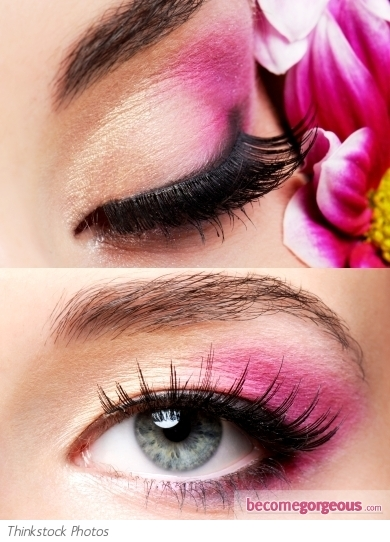 Maquillage Des Yeux Rose Maquillage Des Yeux