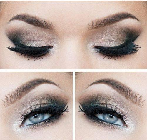 Maquillage des yeux soirée